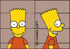 Famille Simpson (9/13) Bart